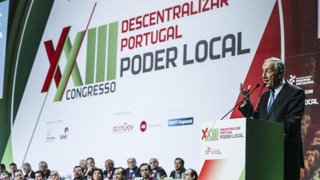 Marcelo diz que a descentralização é para as pessoas e não para políticos