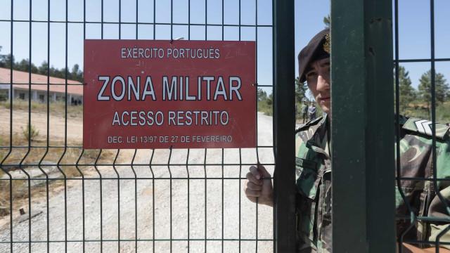 Nunca foi atingido quadro de efetivos para a segurança em Tancos