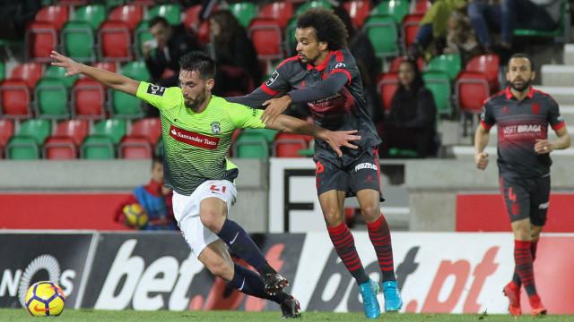 Zainadine garante vitória do Marítimo sobre o Sporting de Braga