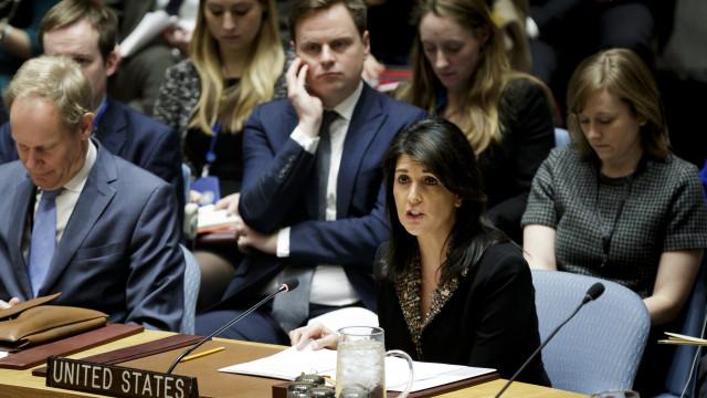 EUA vetam resolução do Conselho de Segurança sobre Jerusalém