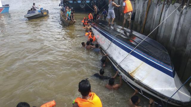 Pelo menos oito mortos em acidente com lancha na Indonésia