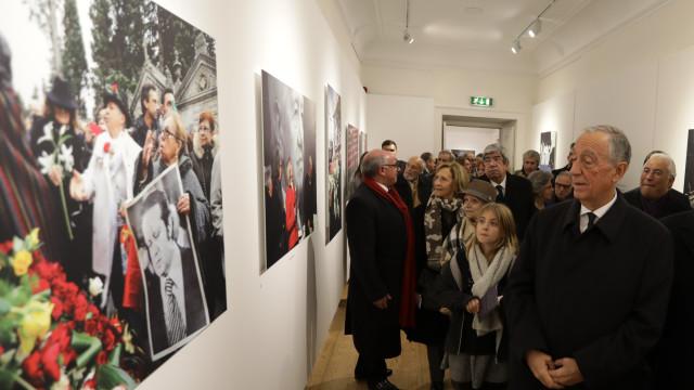 """Exposição: Soares procurava """"algo sobre si próprio"""" nas fotografias"""