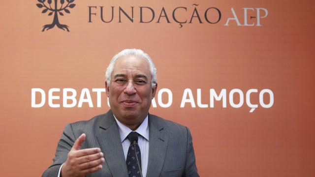 """António Costa anuncia que défice rondará """"seguramente"""" 1,2% do PIB"""