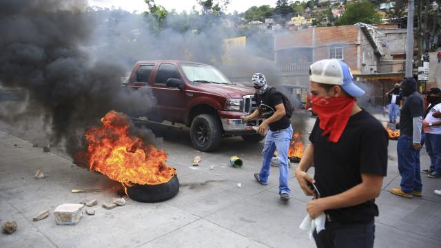 Novos protestos nas Honduras contra reeleição do presidente do país