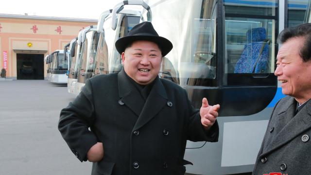 Kim Jong-un está numa visita não anunciada a Pequim