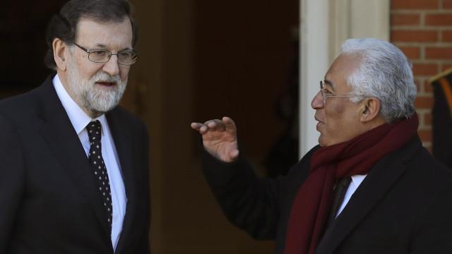 Novas ligações de comboio juntam Costa e Rajoy hoje em Elvas
