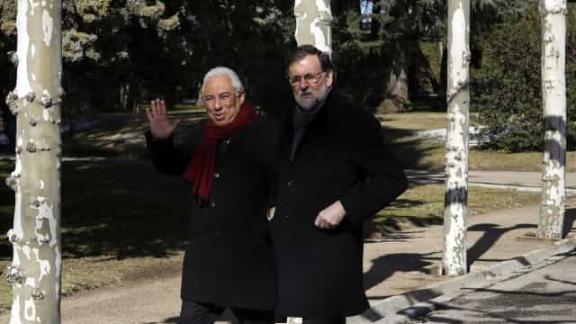 """Costa reunido com Rajoy num ambiente """"excelente e amigável"""""""