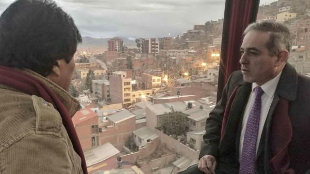 Bolívia tem o sistema mais extenso de teleféricos do mundo