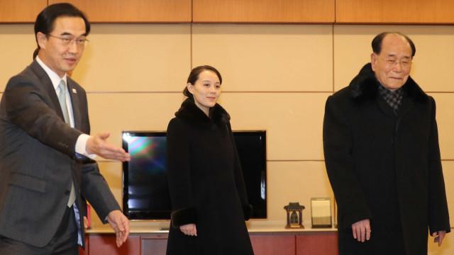 Irmã mais nova do líder norte-coreano chega à Coreia do Sul
