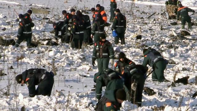 Caixa negra do avião que se despenhou perto de Moscovo foi encontrada