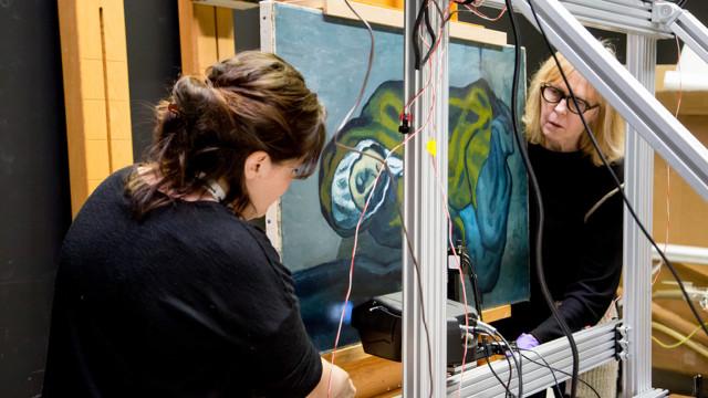 Quadro de Picasso esconde pintura de outro artista espanhol