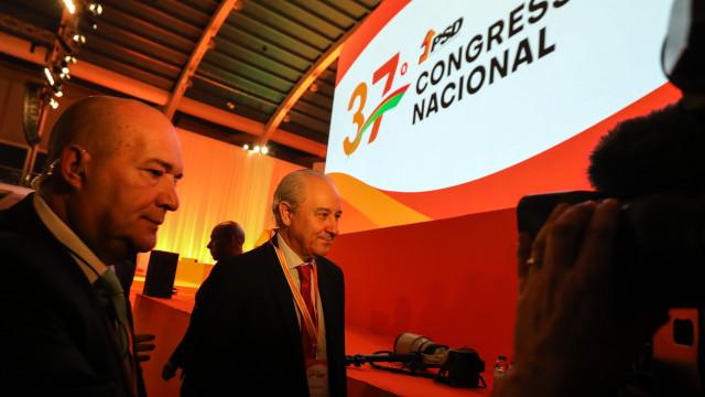 Morais Sarmento, Elina Fraga e David Justino na comissão política de Rio