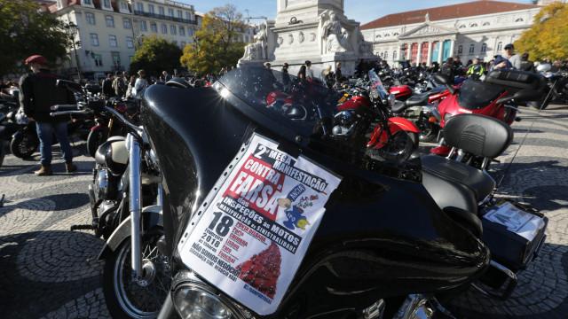 Milhares de motociclistas iniciam protesto em várias cidades