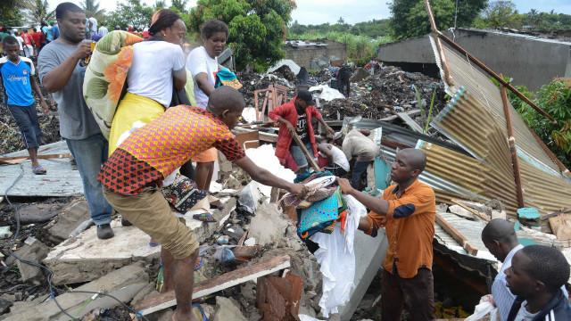 Município de Maputo apoia 103 famílias vítimas do desabamento de lixeira