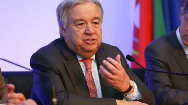 "Síria: Guterres pede ""suspensão imediata"" de ""atividades de guerra"""