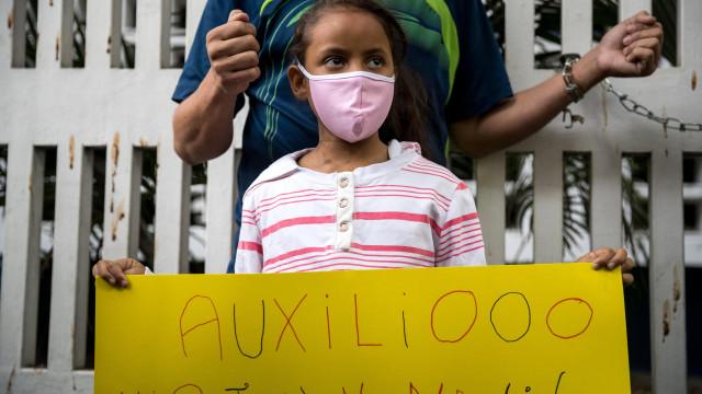 Parlamento venezuelano aprova acordo que autoriza ajuda humanitária