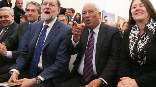 Costa e Rajoy relançam ligações ferroviárias Portugal-Espanha