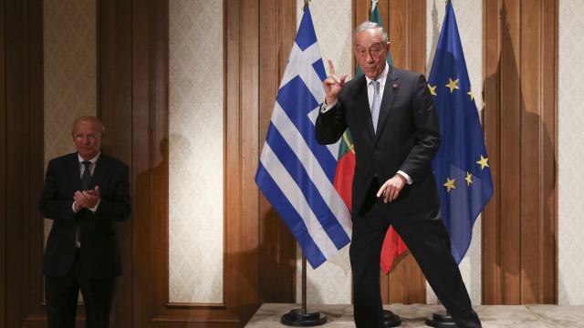 Marcelo reúne-se hoje com Tsipras e chefe de Estado da Grécia