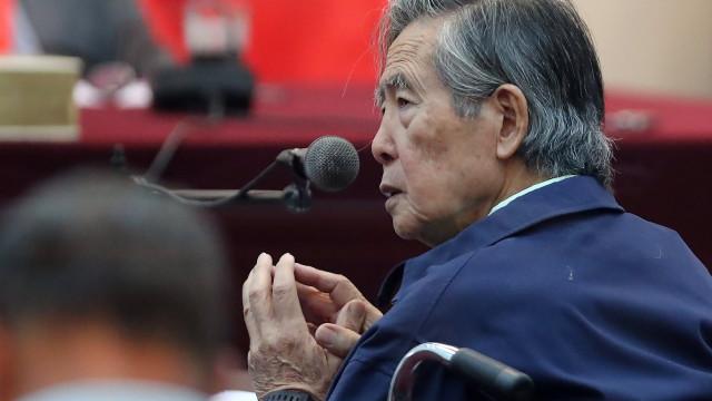 Ex-Presidente peruano diz que regresso à prisão é condenação à morte