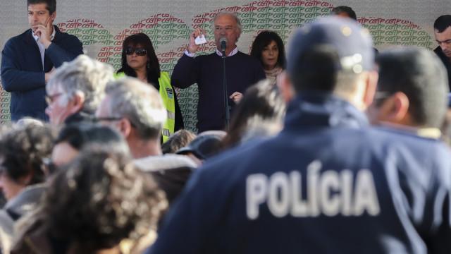 """CGTP denuncia """"lamentável"""" postura do Governo durante manifestação"""