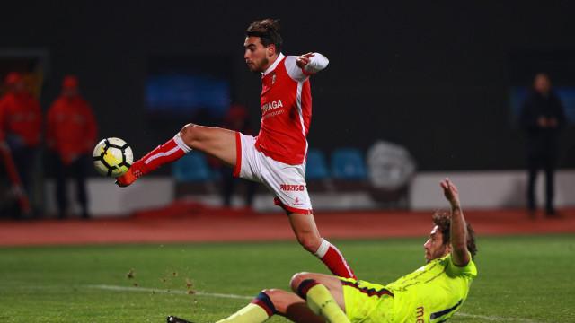 Sp. Braga impõe goleada na visita ao Desportivo de Chaves