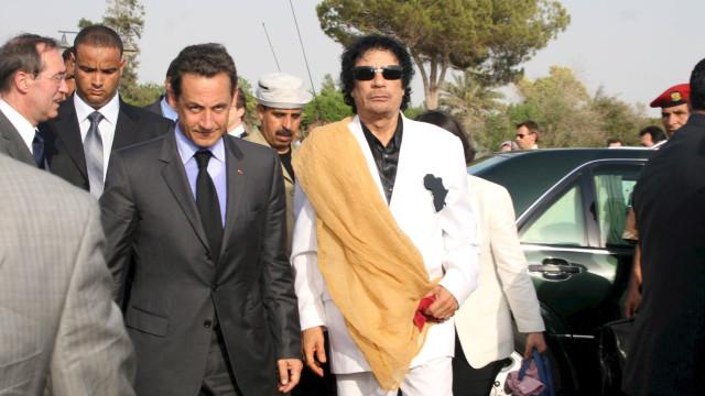Sarkozy indiciado em caso sobre suspeitas de financiamento líbio