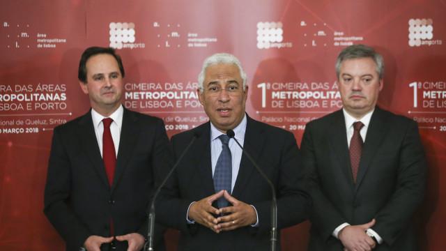 """Acordo de descentralização para áreas metropolitanas será """"histórico"""""""