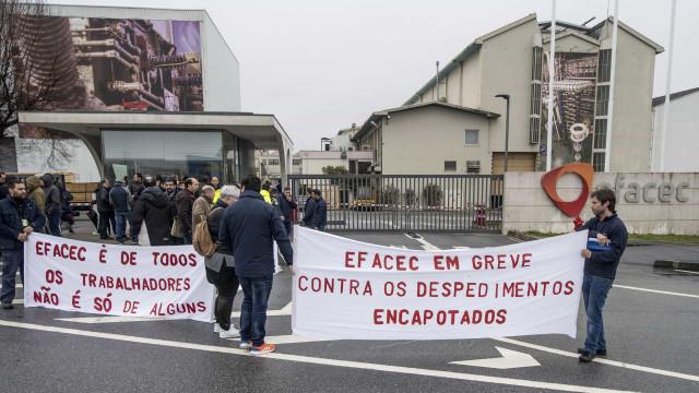 Trabalhadores da Efacec estão hoje em greve contra despedimento coletivo