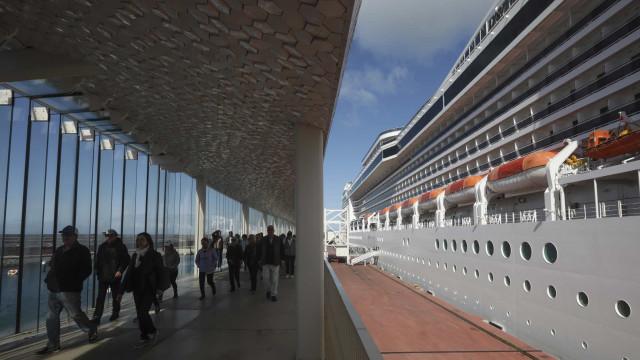 Número de passageiros de cruzeiros no porto de Lisboa aumentou 15%