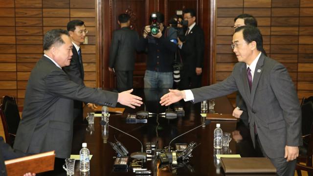 Já há data para reunião entre Coreia do Norte e Coreia do Sul