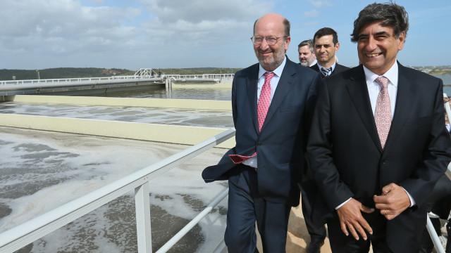 Governo quer 20% da água residual das 50 maiores ETAR a ser reutilizada