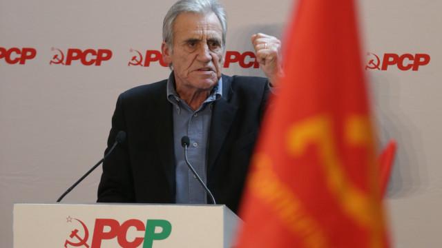 PCP condena ataque à Síria e diz que Portugal deve demarcar-se do ato