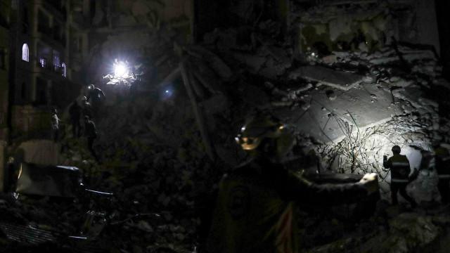38 mortos em ataques aéreos noturnos na Síria atribuidos à Rússia