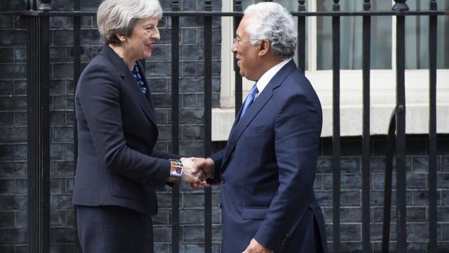 Skripal: Costa reitera solidariedade com Londres em encontro com May