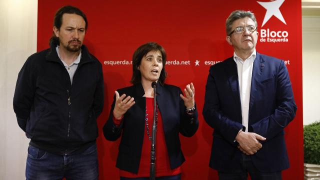 Bloco, Podemos e França Insubmissa lançam movimento político europeu