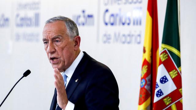 """Marcelo elogia """"equilíbrio difícil"""" da governação em Portugal"""