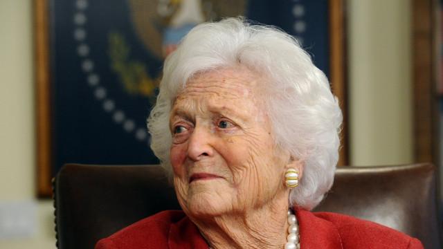 Morreu Barbara Bush, ex-primeira-dama dos EUA