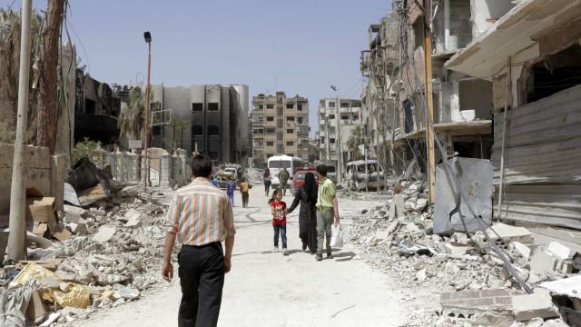 Rússia indica que peritos internacionais concluíram investigação em Douma