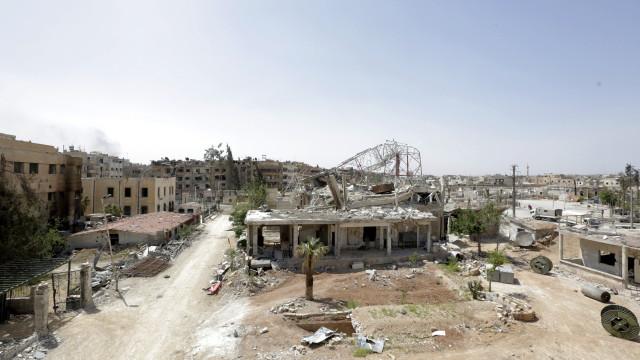 Inspetores de armas químicas conseguiram entrar em Douma