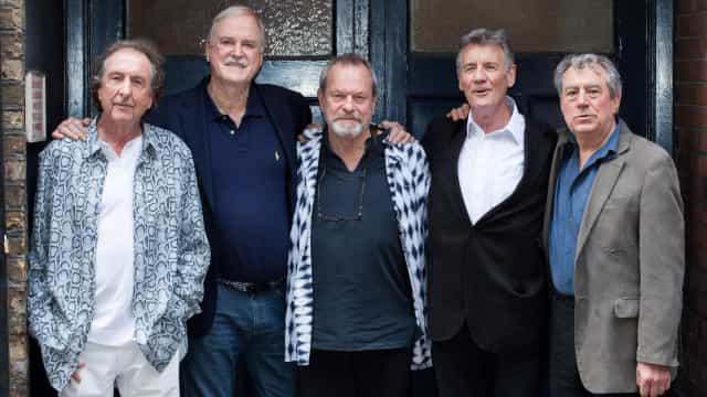 Argumentos nunca vistos de Monty Python encontrados em arquivo