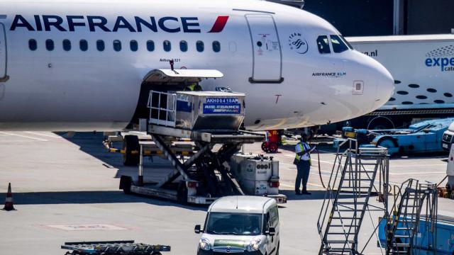 Air France chega a acordo salarial com maioria dos sindicatos