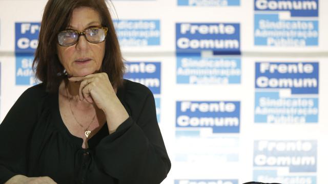 Frente Comum insiste em aumentos de 4% e não desconvoca greve