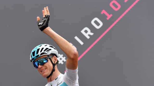Froome vence 19.ª etapa do Giro e sobe a liderança
