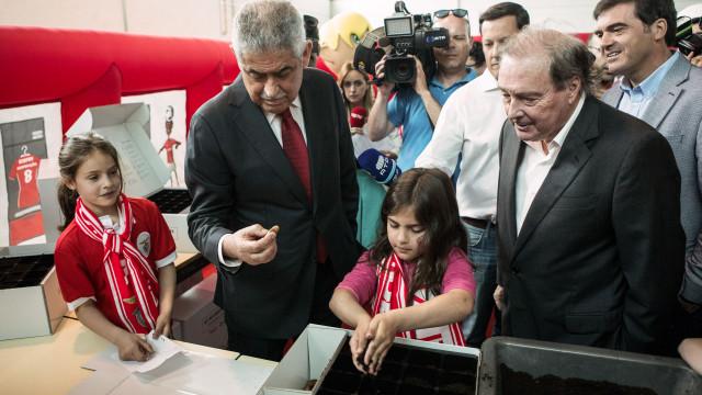 Benfica lança projeto em escolas dos concelhos afetados pelos incêndios