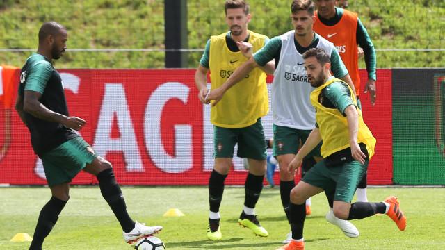 Seleção portuguesa prossegue trabalhos na Cidade do Futebol