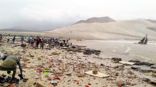 Ciclone na península Arábica causa um morto e 40 desaparecidos
