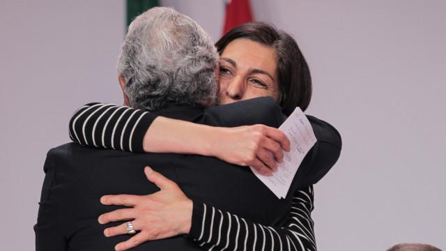 """""""Estou absolutamente convencida que nas legislativas o PS vai ganhar"""""""