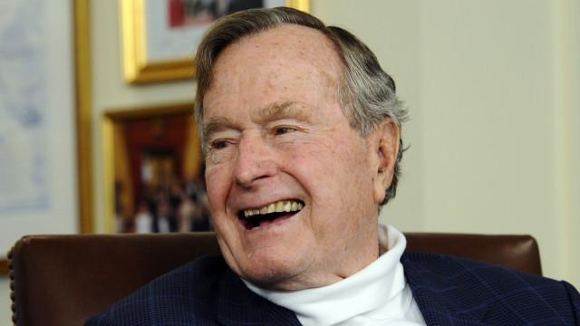 "Marcelo lembra ""bravura"" e ""solidez de caráter"" de George H.W. Bush"