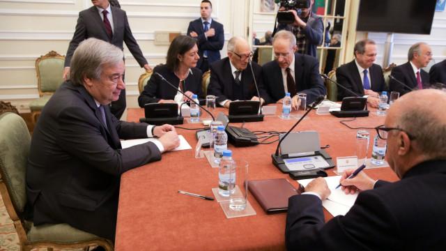 Reunião do Conselho de Estado com Guterres começou pelas 10h50