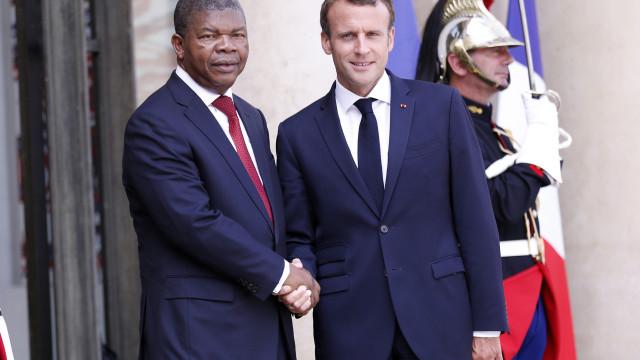 Macron visitará Angola no segundo semestre de 2019